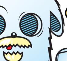 neptune/poseidon Wabbit Sticker