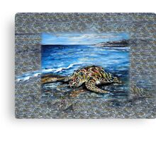 Beach Fantasy Canvas Print