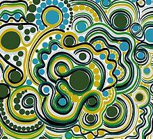 Green pattern by amekamura