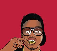 August Alsina by Deannatheartist