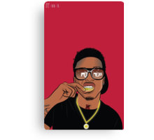 August Alsina Canvas Print