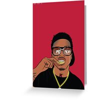 August Alsina Greeting Card