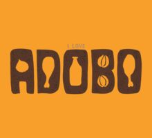 I Love Adobo by KalyeShirts