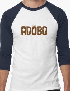I Love Adobo Men's Baseball ¾ T-Shirt