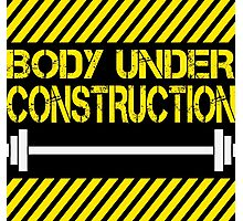 Body under construction Photographic Print