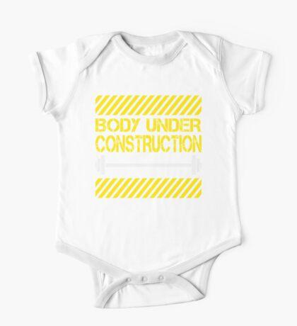 Body under construction One Piece - Short Sleeve