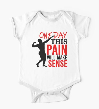 One day this pain will make sense One Piece - Short Sleeve