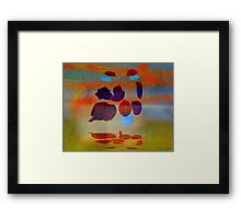 Magritte stung by summer Framed Print