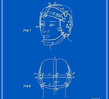 Wrestling Helmet Patent - Blueprint by FinlayMcNevin