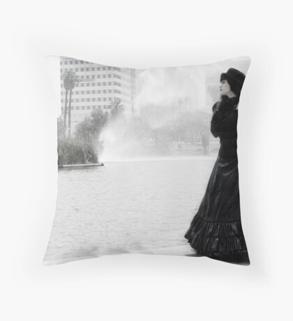 Bad Charlotte Throw Pillow
