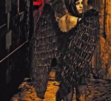 Fallen Angel - Urban Fantasy Sticker