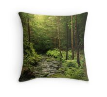 Loki's Forest Throw Pillow