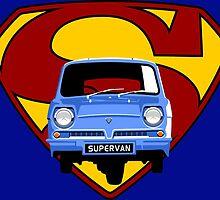 Reliant Supervan by car2oonz