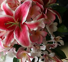 Wedding bouquet by Hunnie