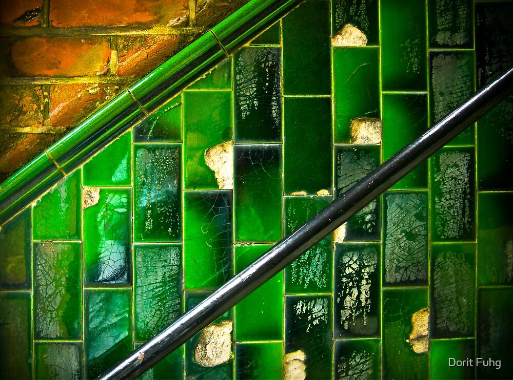 vintage staircase by Dorit Fuhg