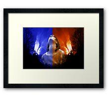 """BetweenSpirit&Passion"" Framed Print"