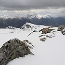 Winter on Stob Coire. by John Cameron