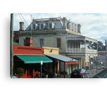Streetscape, Castlemaine VIC Metal Print