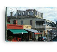 Streetscape, Castlemaine VIC Canvas Print