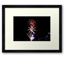 Melbourne New Year 2014/15 1 Framed Print