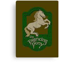 Prancing Poney Canvas Print