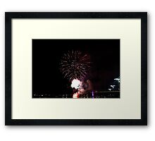 Melbourne New Year 2014/15 2 Framed Print