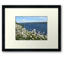 A Sail On Loch Ness Framed Print
