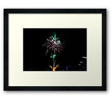 Melbourne New Year 2014/15 3 Framed Print