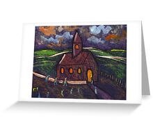 Going to chapel Greeting Card