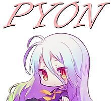 Pyon! feat. Shiro (No Game No Life) by GuyDude1337