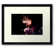 Melbourne New Year 2014/15 8 Framed Print
