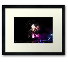 Melbourne New Year 2014/15 9 Framed Print