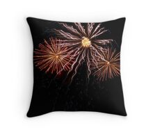 Lights in the sky Throw Pillow