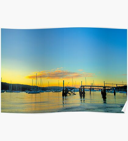 Sublime -Clareville - Sydney Beaches - The HDR Series Poster