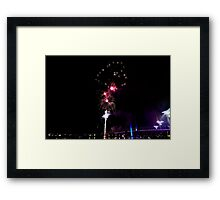 Melbourne New Year 2014/15 11 Framed Print