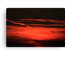 Sunset  Crescendo Canvas Print