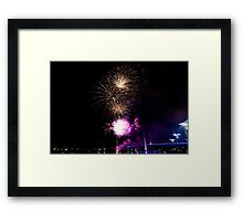 Melbourne New Year 2014/15 10 Framed Print