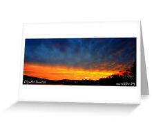 Cold Front  Greeting Card