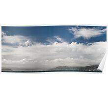 Cloud over Wellington Harbour Poster