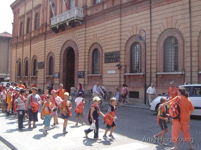 School Excursion in Ravenna by Amy Hing-Young