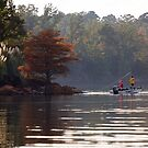 Fishing in Toledo Bend by Peter Doré
