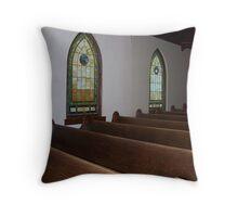 Old Bethel Church Throw Pillow