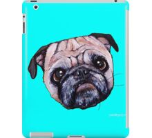 Butch the Pug - Cyan iPad Case/Skin