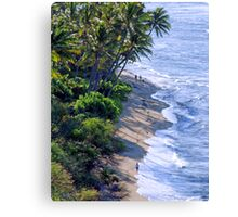 Diamond Head Beach Canvas Print