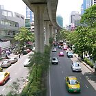 The busy streets of Thailand by Hunnie