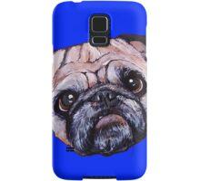 Butch the Pug - Blue Samsung Galaxy Case/Skin