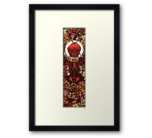 Death of Love Framed Print