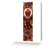 Death of Love Greeting Card