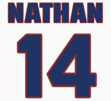 National Hockey player Nathan Gerbe jersey 14 by imsport