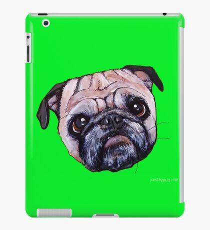 Butch the Pug - Green iPad Case/Skin